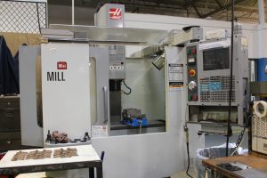 Haas Vertical Machining Center - Precise Machine Company