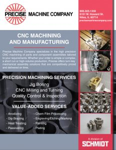 Precise Machine Company Brochure